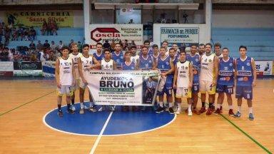Antes del clásico, Ferro y Capuchinos sumaron apoyo para Bruno Escobar