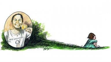 #Micaela, en la pluma de Liniers