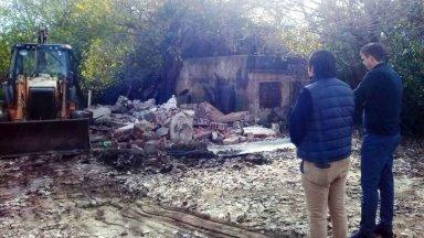Las casas que se inundan, demolidas