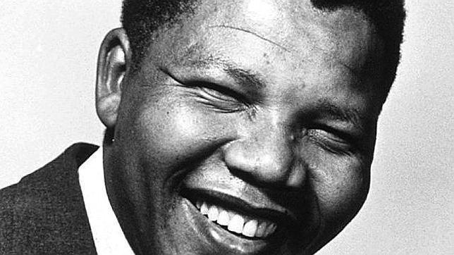 Nelson Mandela en su juventud