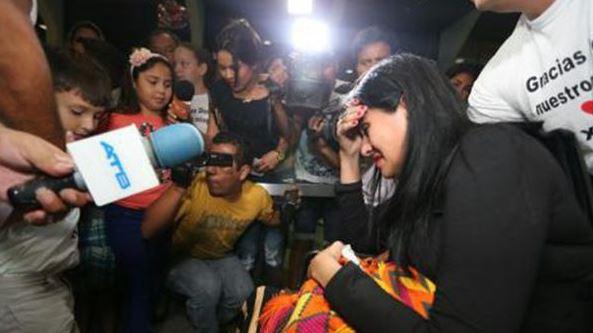 Ximena recurrió a su familia y a donaciones para continuar con el tratamiento.