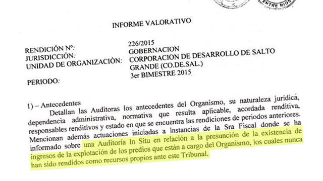 La auditoría del Tribunal de Cuentas