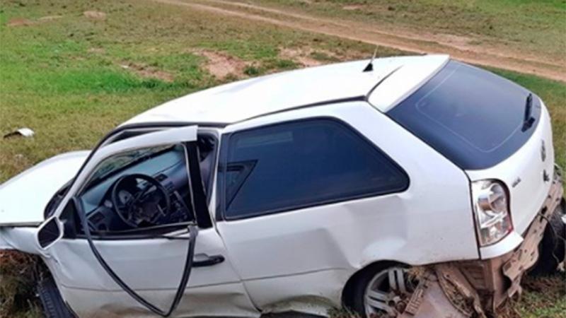 El auto quedó en muy mal estado (Crédito: Radio City)