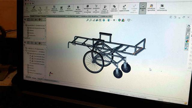El proyecto de silla (Crédito AIM)