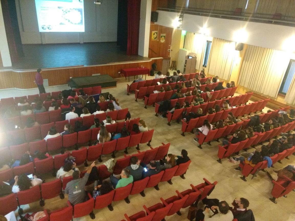 Tres conferencias ofreció el director pedagógico del Instituto Santo Domingo.