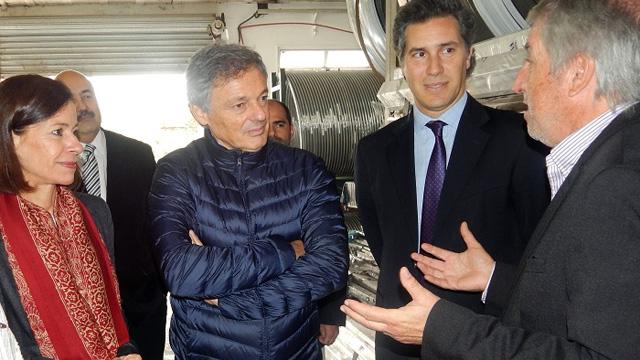 La visita del Ministro Cabrera a la empresa ENSA