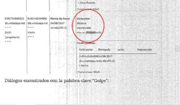 Uno de los gendarmes dijo que lo tenían en una camioneta — Maldonado
