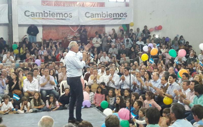 Atilio Benedetti también pronunció un discurso