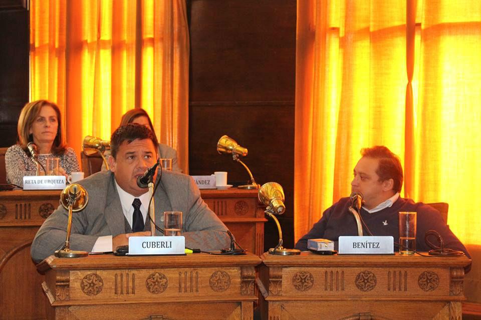 Sebastián Cuberli, el concejal que prensentó el pedido