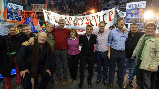 En la campaña electoral de 2015, todos parecían unidos