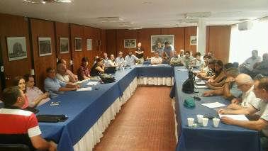 En INTA Concordia fue la reunión de este martes y miércoles.
