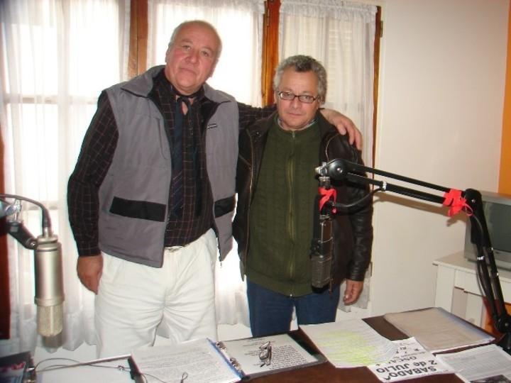 Pedro Enríquez en radio Amanecer de la ciudad de 9 de Julio