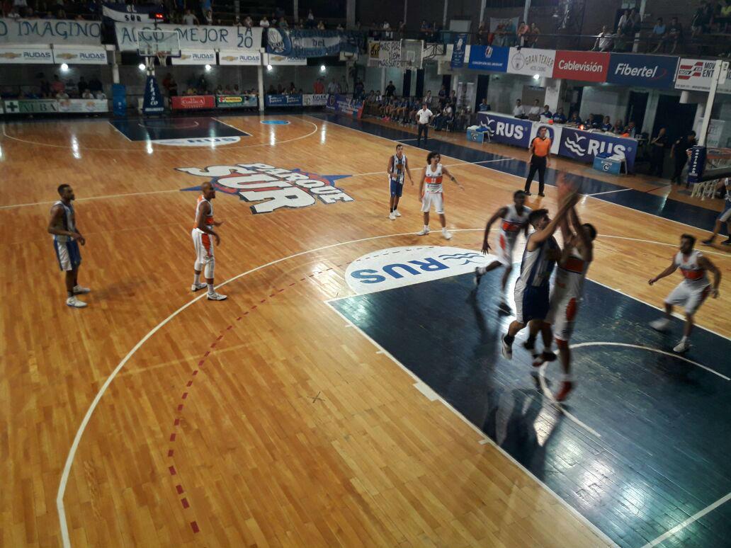 En el Gigante, Parque superó por un punto al equipo mendocino de Rivadavia.
