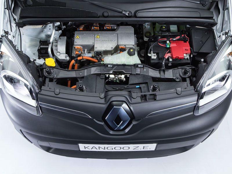 La batería está asociada a un nuevo motor para una mayor autonomía.