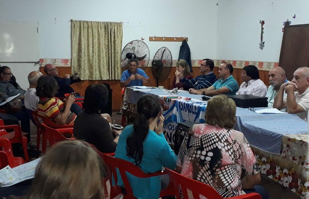 En la reunión hubo representantes de Federación, Concordia y San José.
