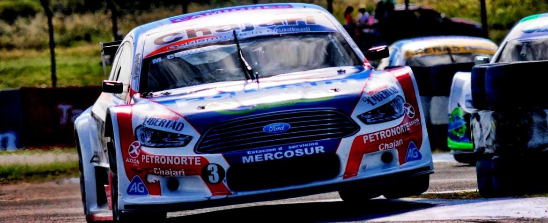 El Ford Mondeo que maneja Coulleri fue el más destacado del TopRace Series en Concordia.