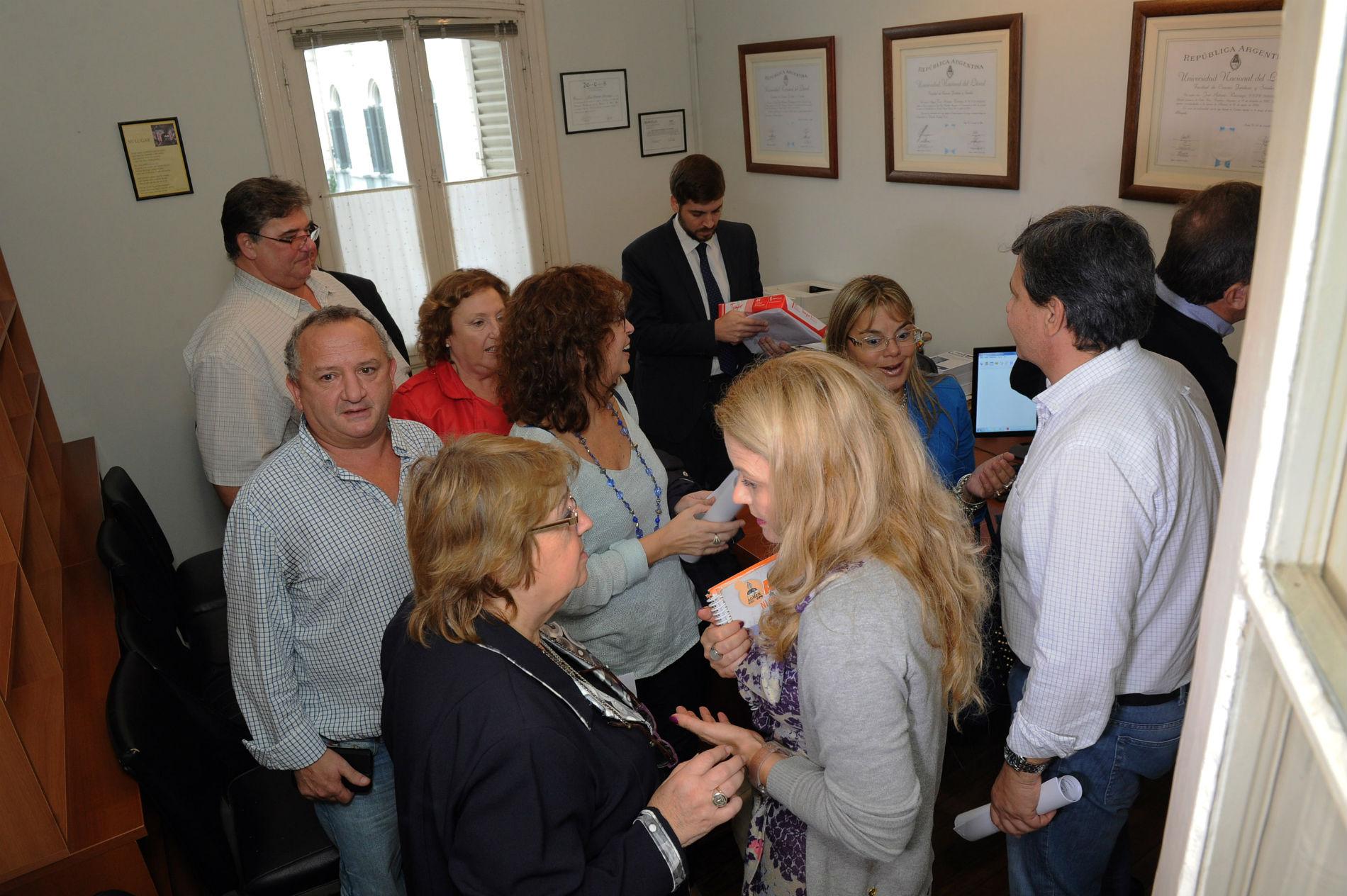 Este jueves por la tarde fue la nueva audiencia de conciliación obligatoria entre el Gobierno y los gremios docentes.