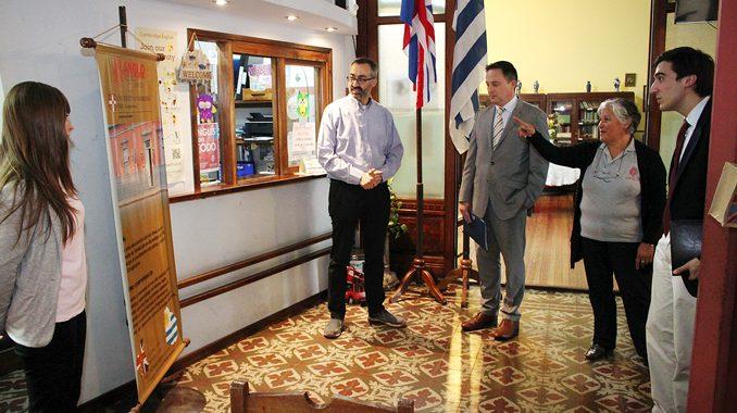 Ian Duddy, embajador del Reino Unido de Gran Bretaña e Irlanda del Norte, estuvo ayer en Paysandú.