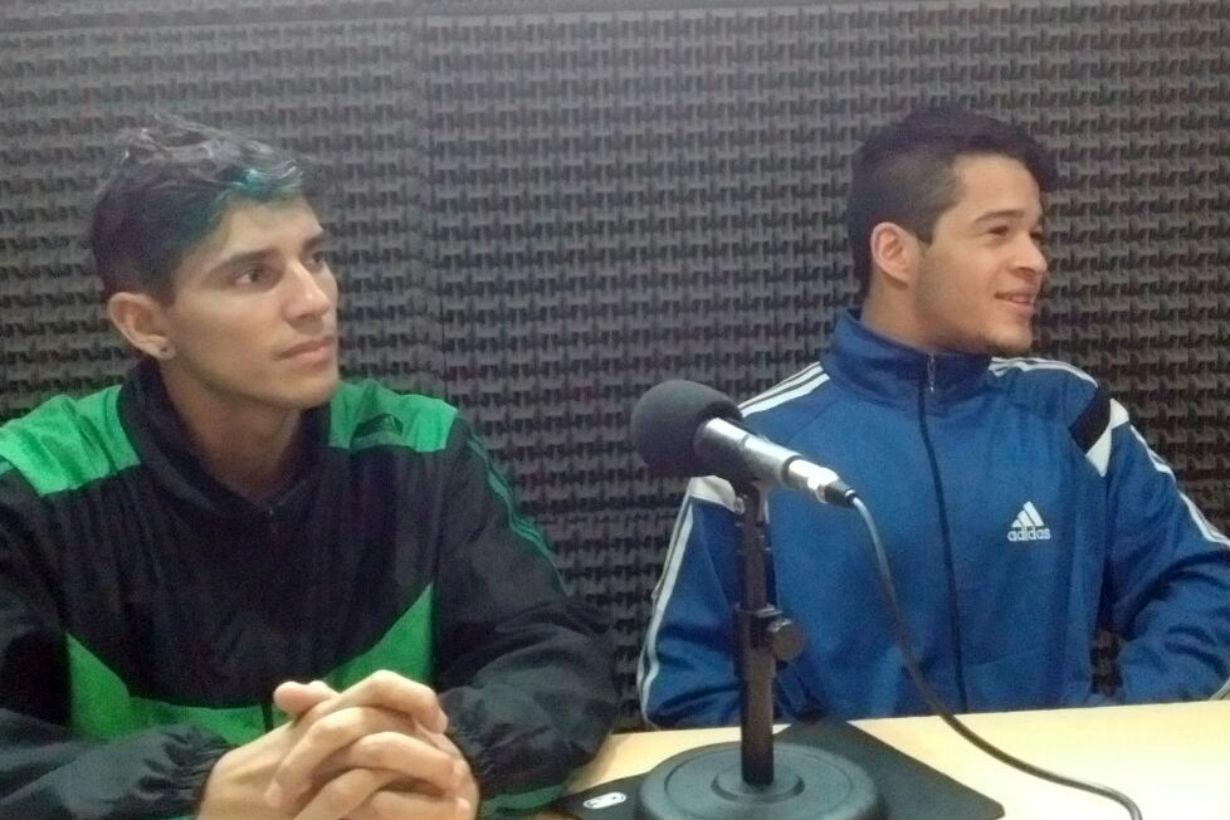 """Brian Benítez y """"Manojo"""" Romero palpitaron la velada en Deportes 12 (de lunes a viernes a las 12 por Radio 12 FM 89.1, con repetición a las 20.30)."""