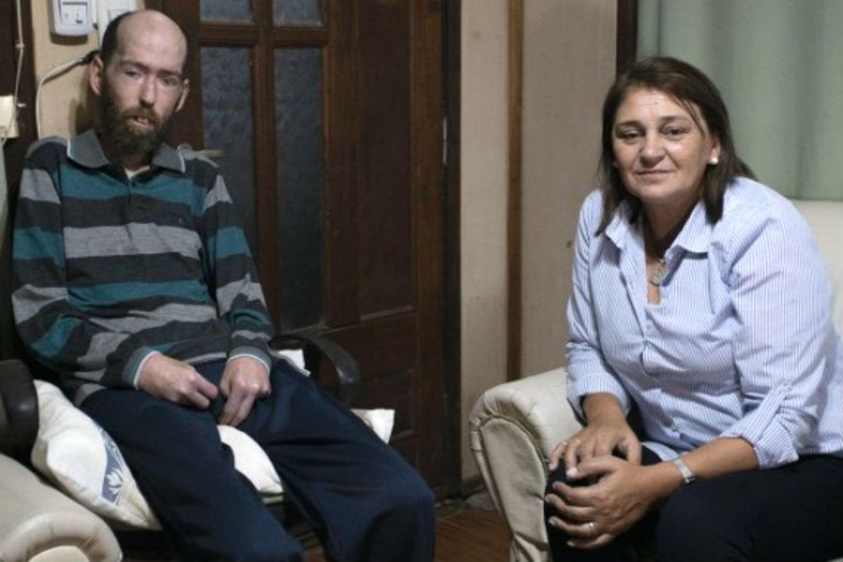 Estela Lemes se reunió con Fabián Tomasi en Basavilbaso