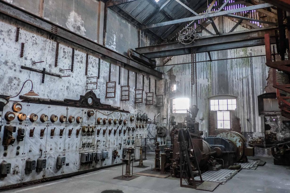 El tablero de la fábrica