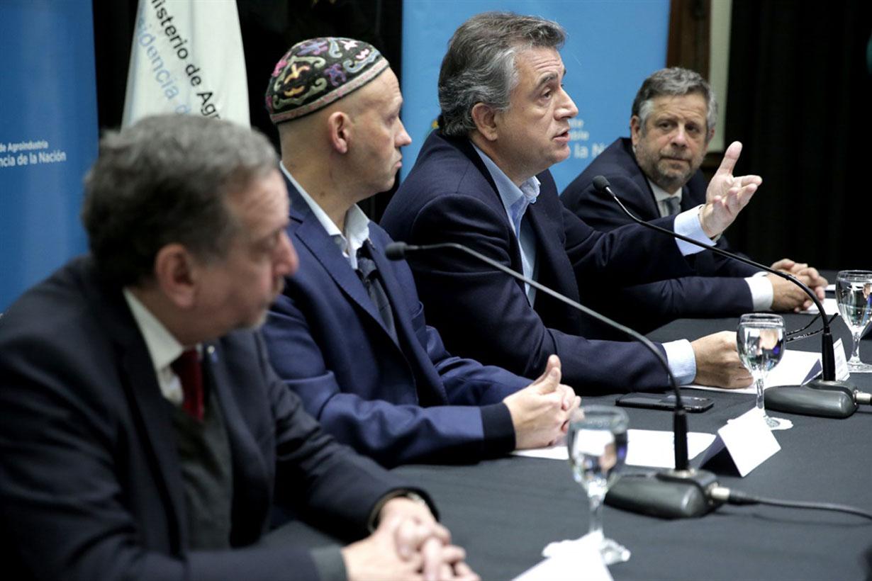 La presentación del informe consensuado por cuatro ministerios