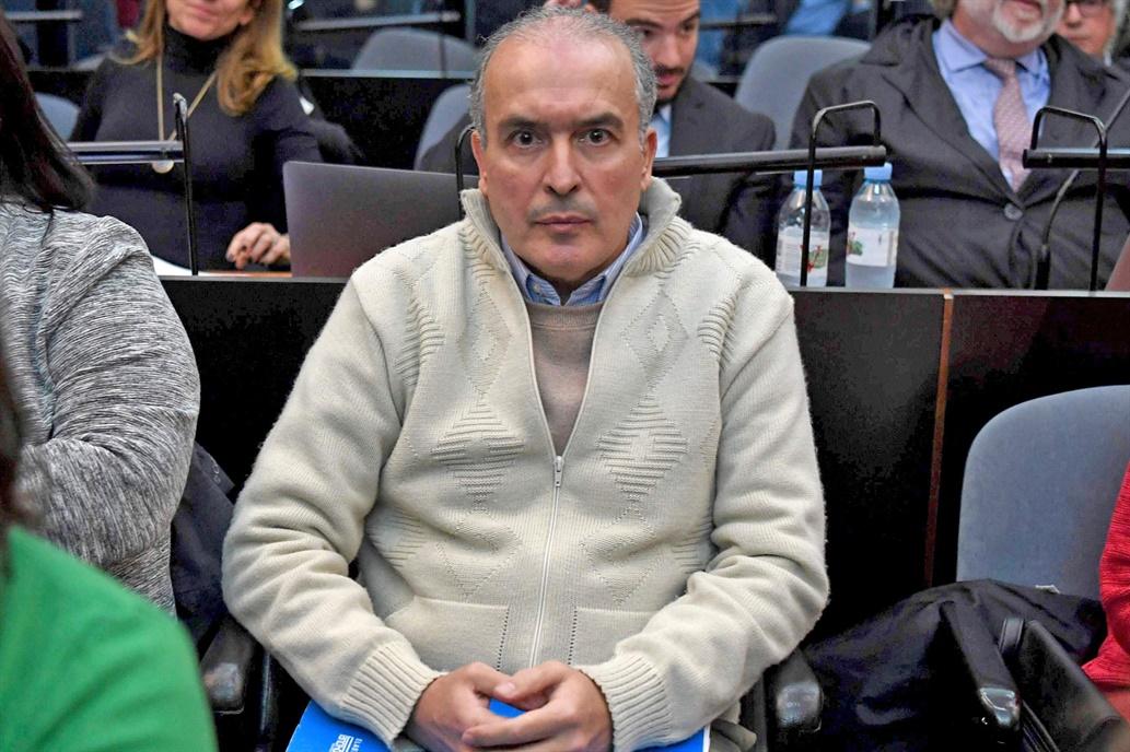 El exsecretario de Obras Públicas de la Nación, este viernes en Tribunales de Comodoro Py.