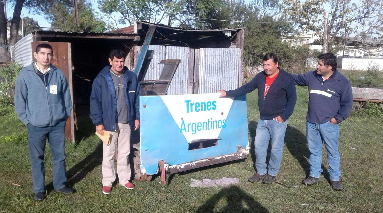 En Rosario del Tala, otro ferroclub en actividad dentro de la provincia.