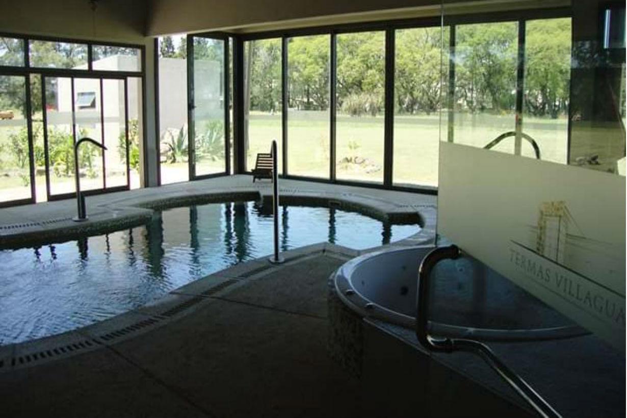 Una de las piscinas del complejo termal de Villaguay, más utilizadas en el tratamiento.