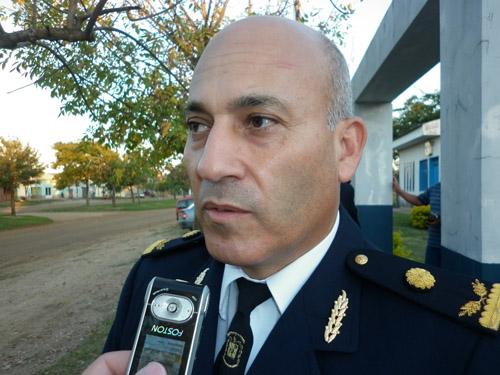 El comisario Villalba habló de la investigación que derivó en la detención de 4 efectivos.