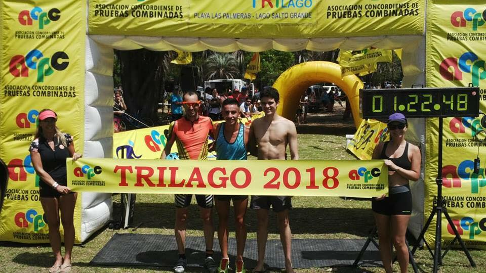 San Miguel, Bertolotti y Amarillo ganaron en la prueba por postas.