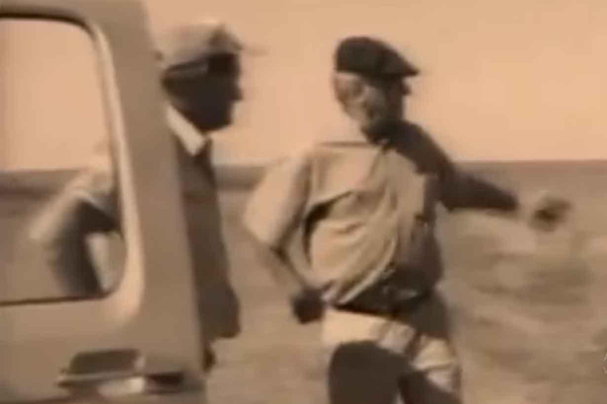 Captura de pantalla de un video institucional que cuenta la historia de la empresa