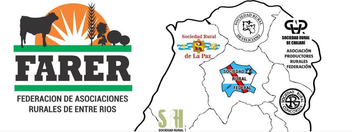 FARER está integrada por una veintena de Sociedades Rurales, fundamentalmente del centro y norte provincial.