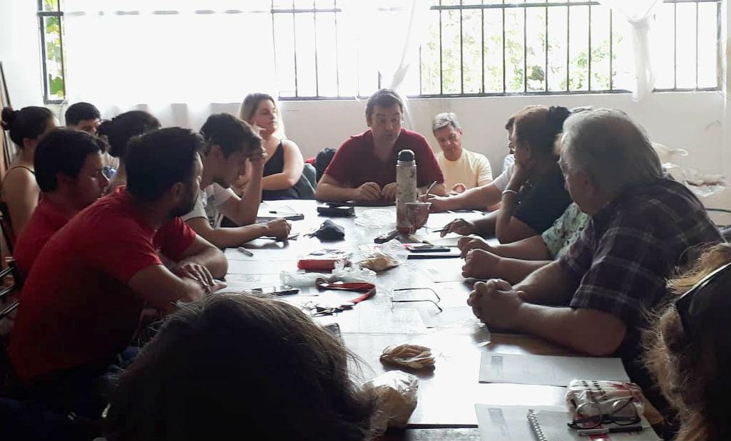 En Paraná se reunió la fuerza que, en las legislativas de 2017, culminó cuarta en la provincia.