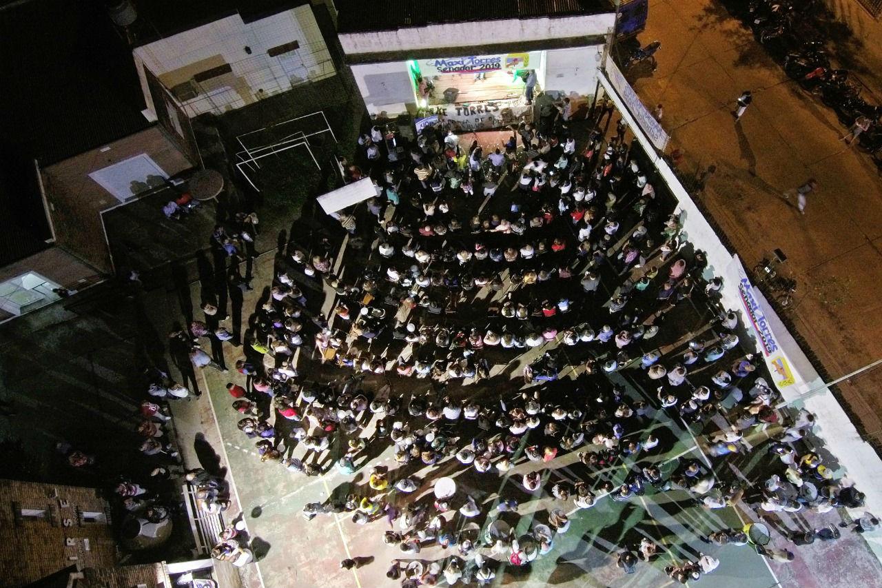El lanzamiento fue anoche en el Club Sargento Cabral de Concordia.