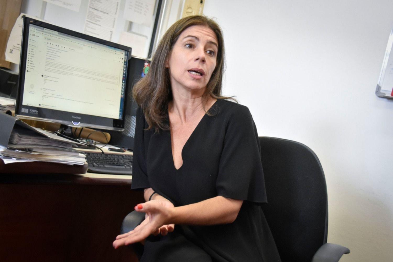 La ingeniera química Risso, a cargo de la Unidad de Calidad del Agua del Uruguay.