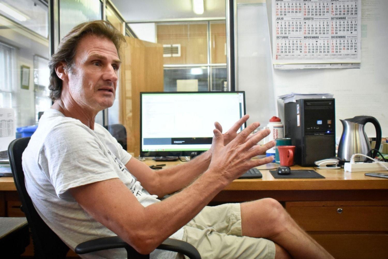El biólogo Sienra coordina los monitoreos en la misma dependencia ubicada en Montevideo.