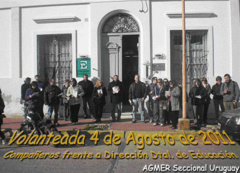 En Concepción del Uruguay hicieron una planta, como acción departamental de aquel año.