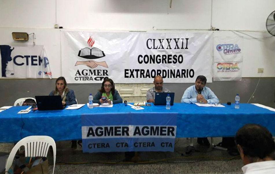 El Congreso Extraordinario de Gualeguay resolvió ir por 2 días más de paro, tras la falta de oferta del Estado.