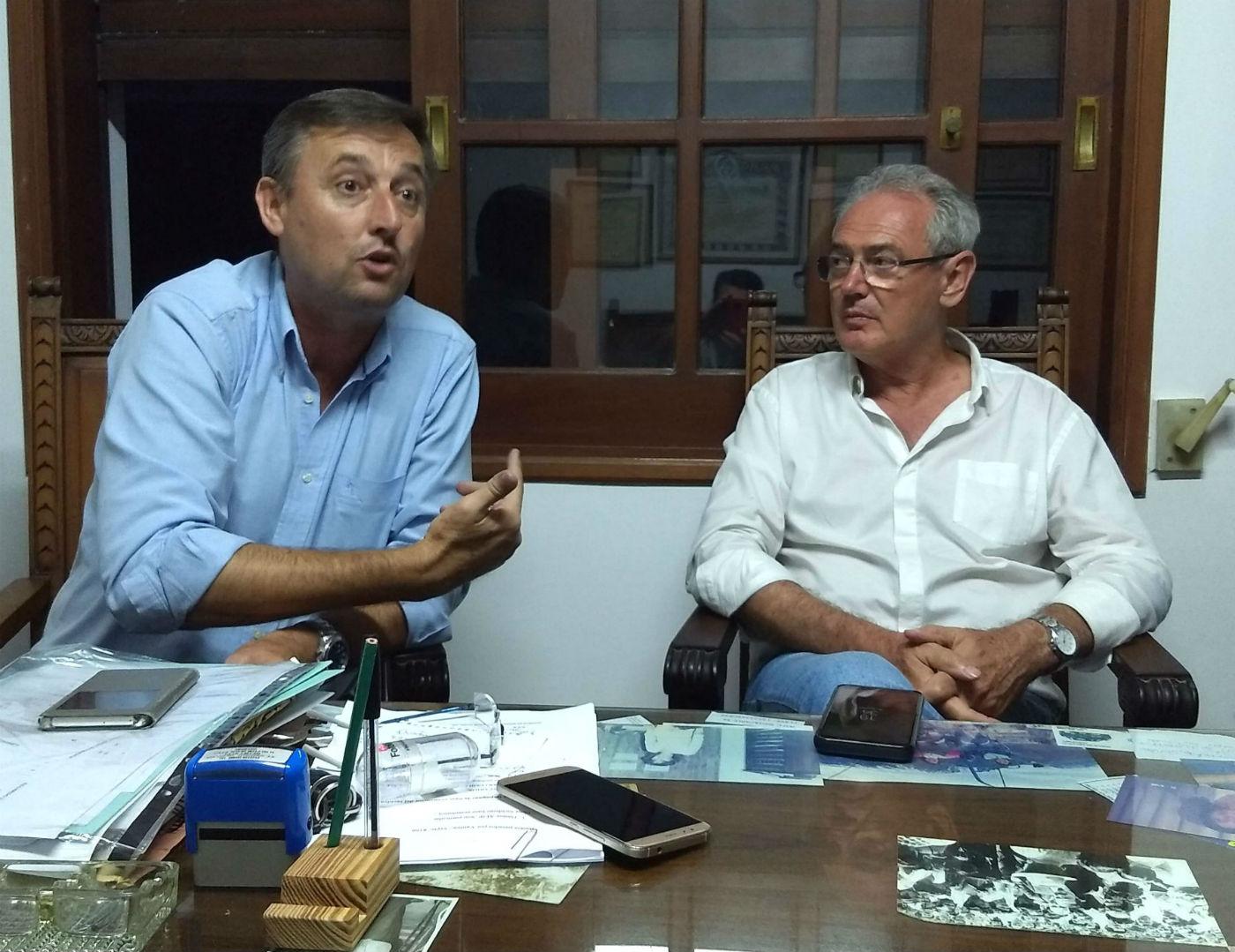 Gustavo Hein, intendente de Basavilbaso y compañero de fórmula de Benedetti.