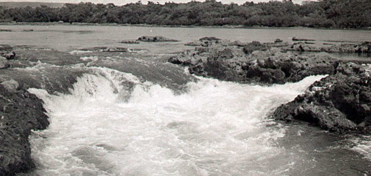 Otra postal de un lugar único en el río Uruguay.