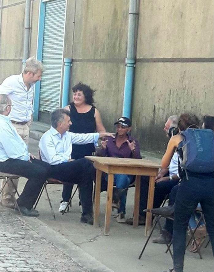Con Bogdan, Frigerio y Benedetti en la zona de Puerto Ruiz (foto: Radio Gualeguay LT 38).