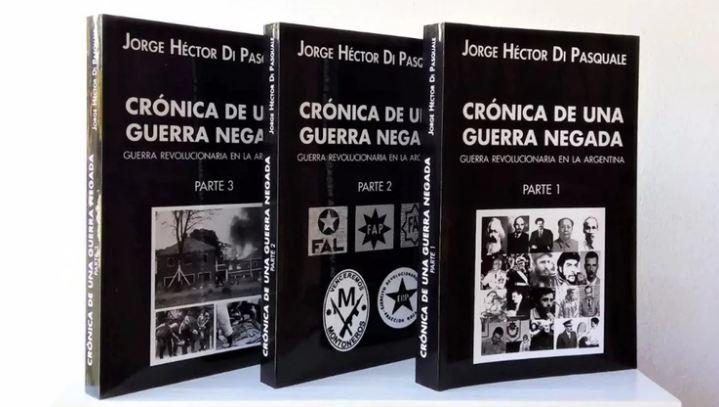 El libro escrito por el ex teniente coronel, preso por rol en la represión del último gobierno de facto.