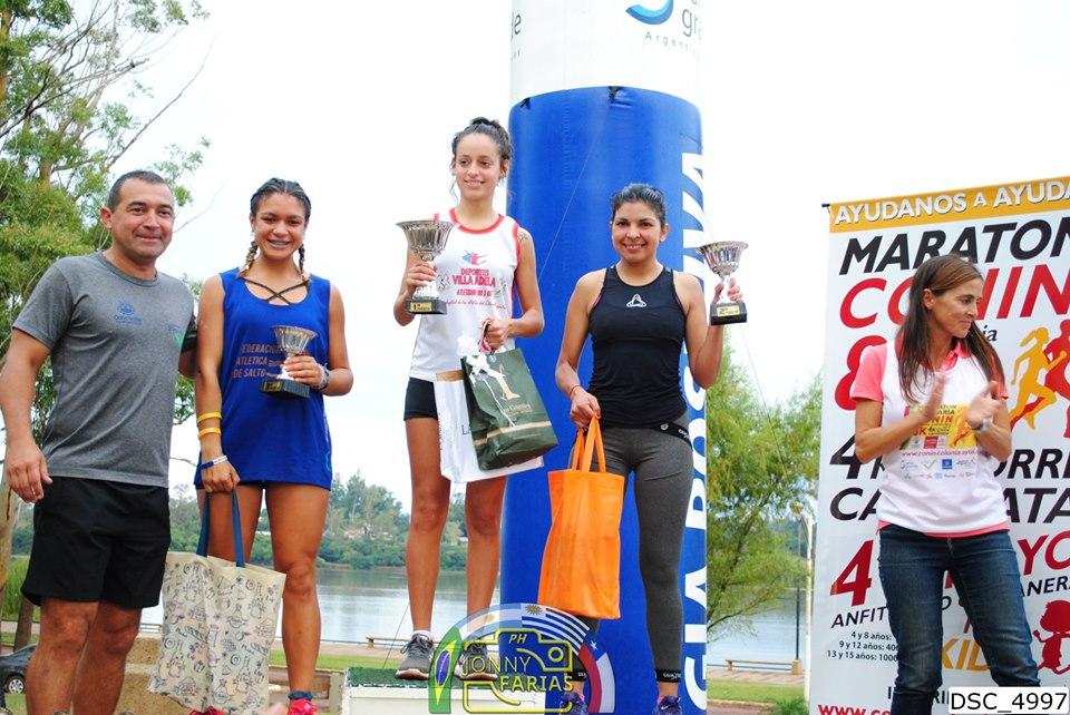 Ximena Simeone se subió a lo más alto del podio (foto: Jonny Farias Imagenes).