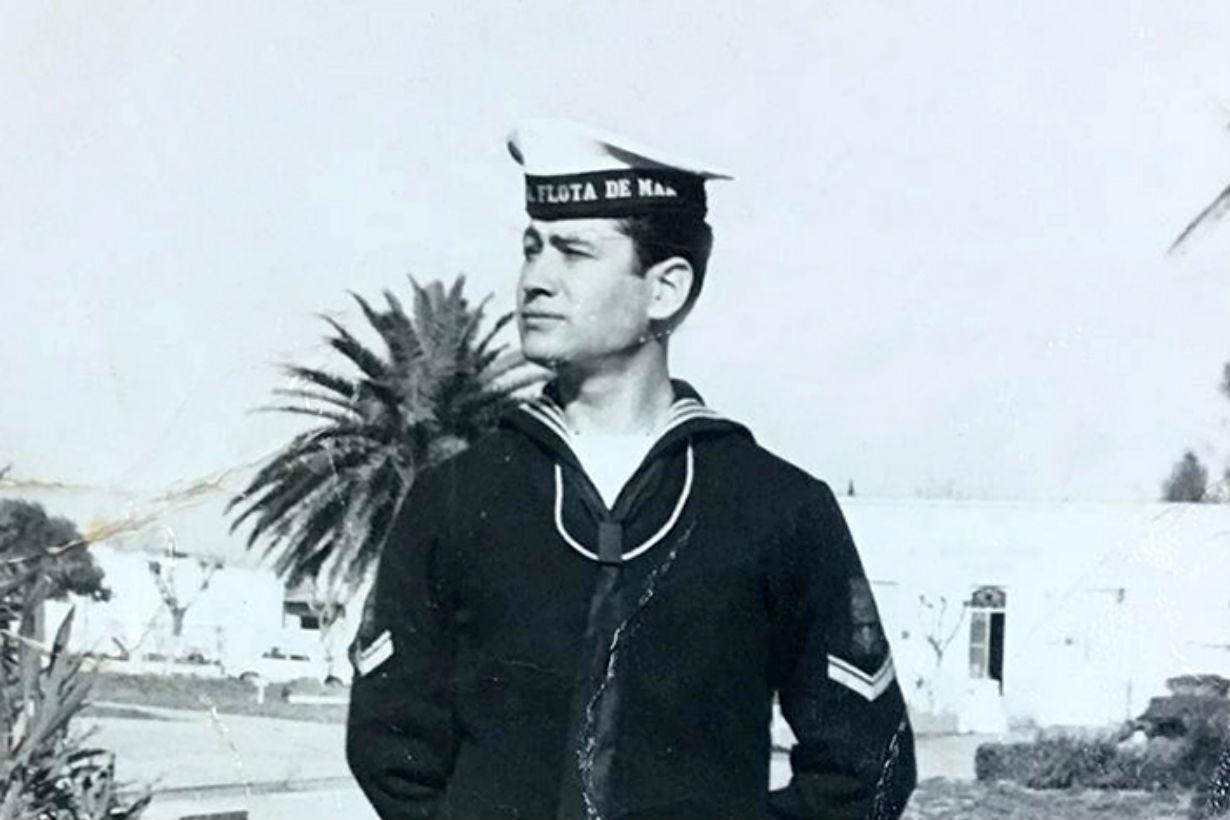 José Valdez en sus comienzos