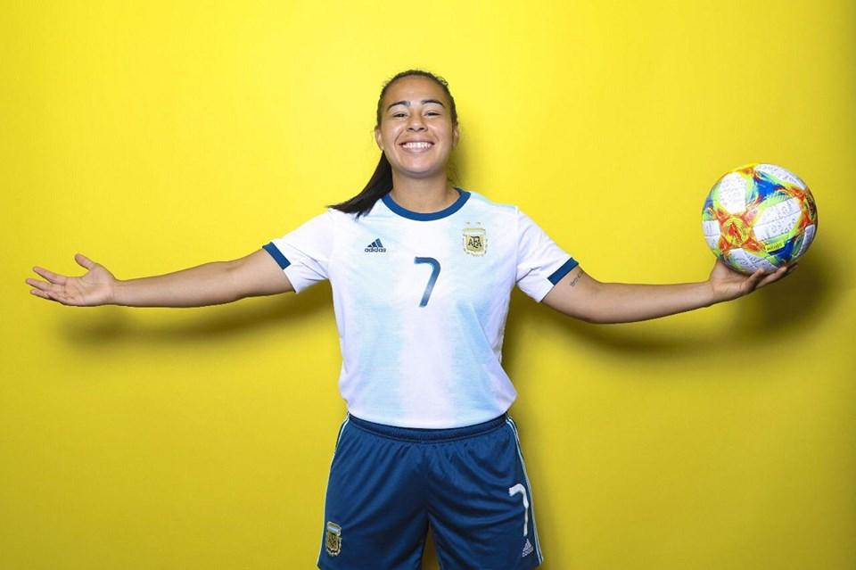 La entrerriana disputó el Mundial de fútbol femenino con la camiseta de la selección argentina.