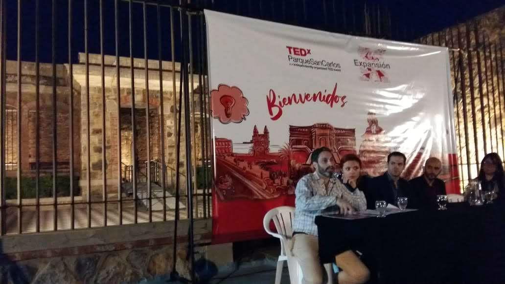 Martín Azzali fue el principal orador del lanzamiento de la edición 2019 de TEDx Parque San Carlos.