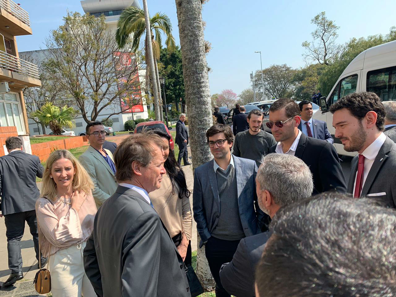 Luego del encuentro, Bordet habló con representantes de Cambiemos