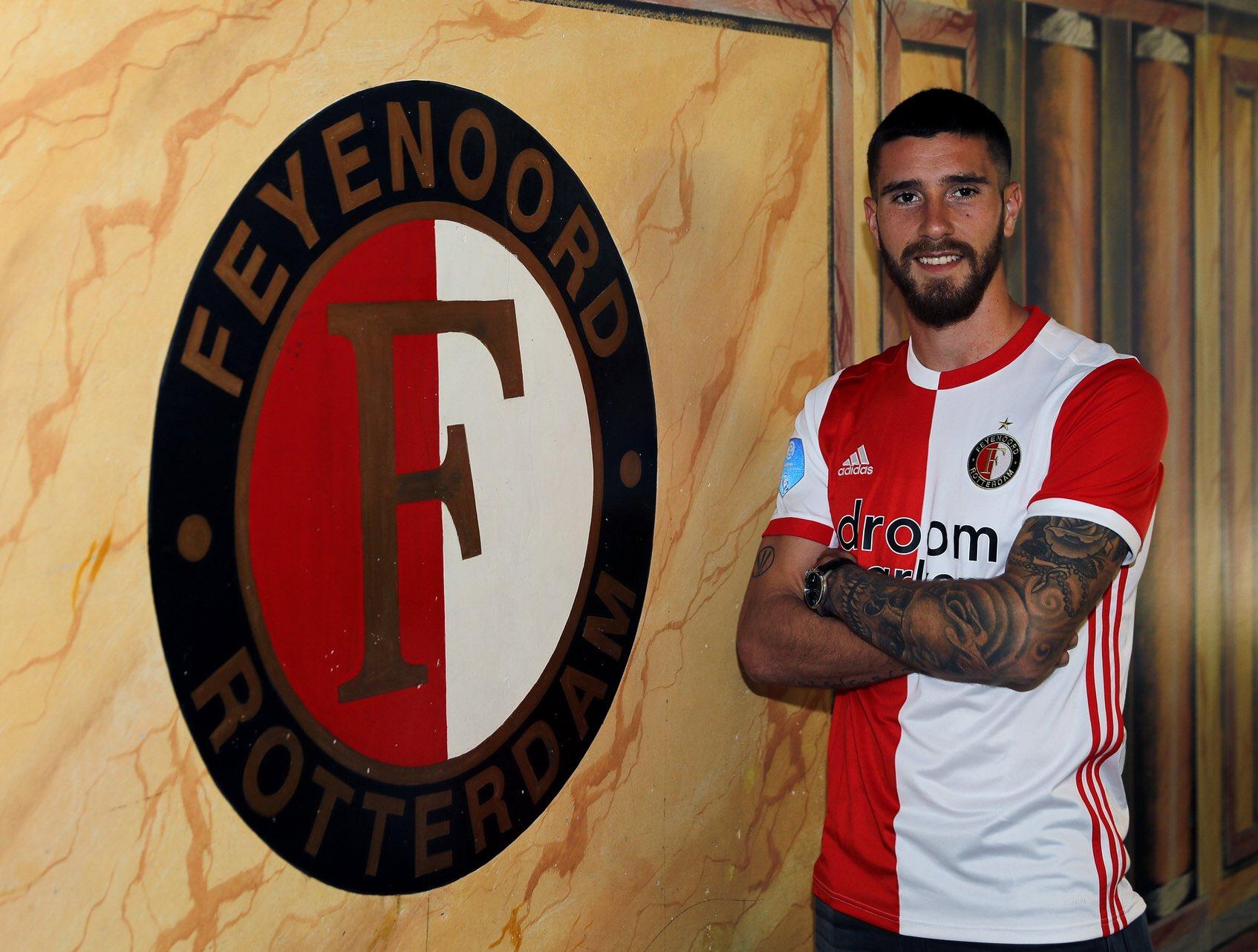 El entrerriano es el sexto argentino en jugar para el club de Rotterdam.