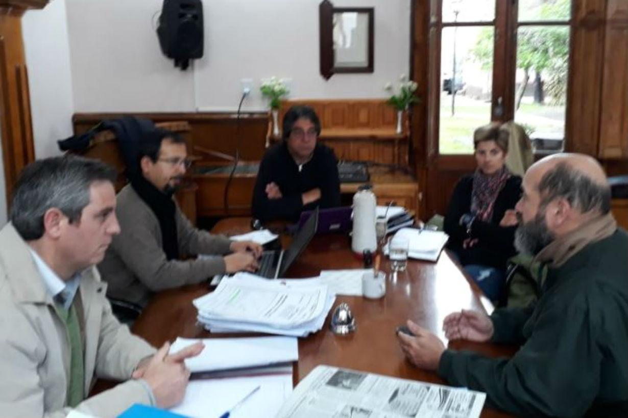 La Comisión de Desarrollo Social, Derechos Humanos y Medio Ambiente recibió a Julio Cabrera, integrante de la Comisión Permanente de Derechos Humanos del departamento.